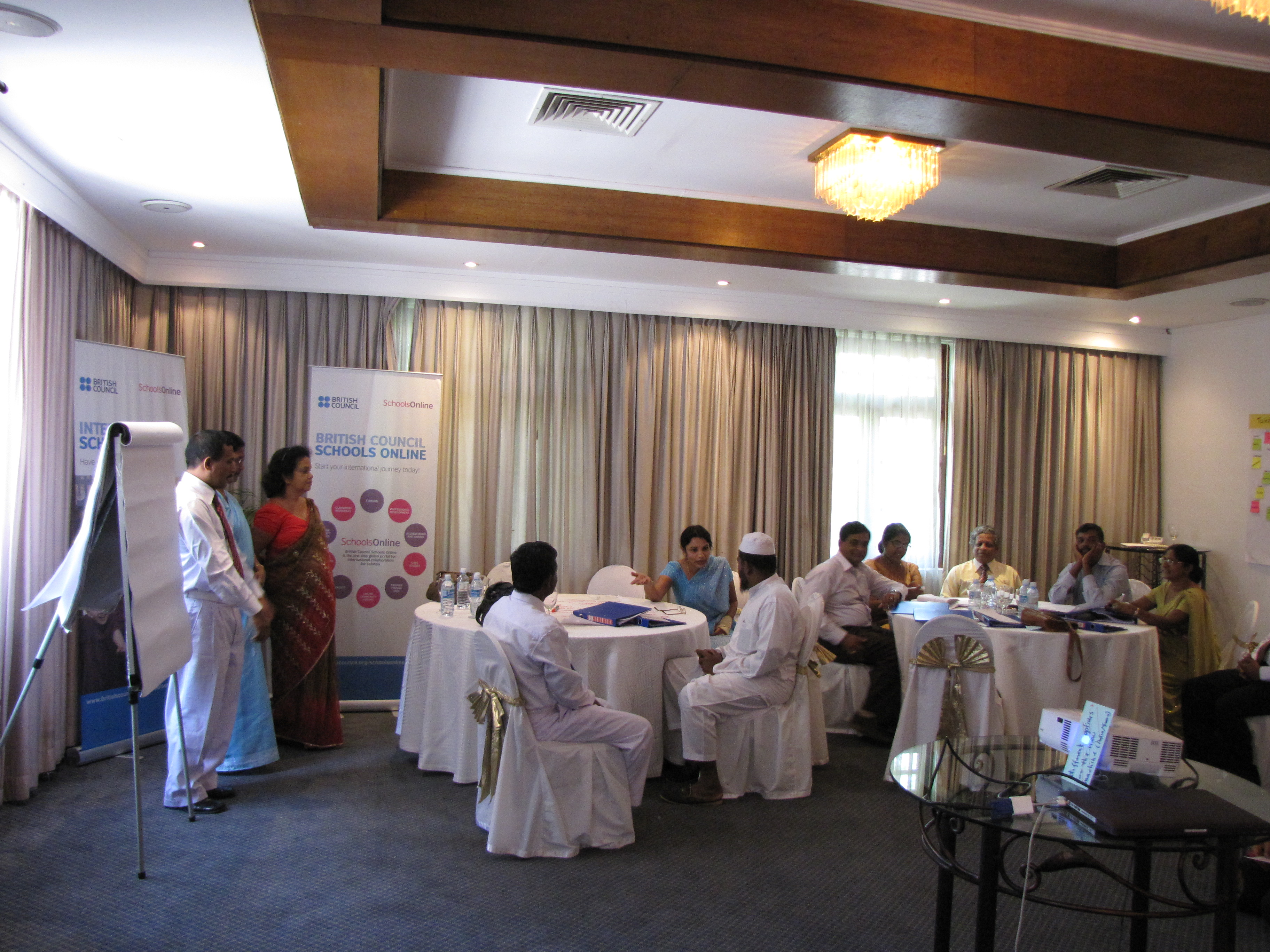 British Council Workshop in Action