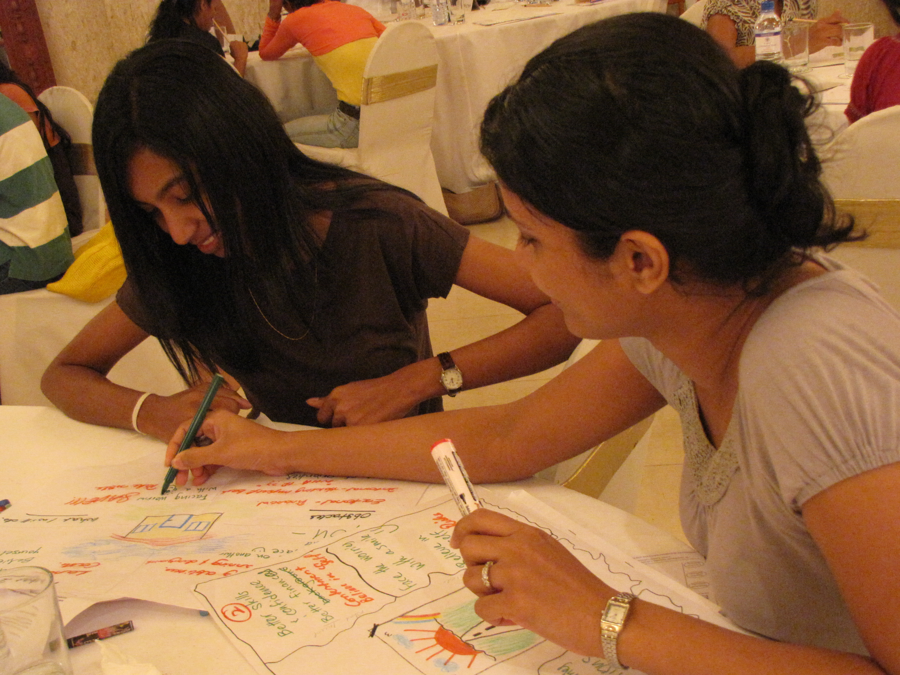 Professional Coaching Workshop in Action